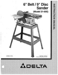 Delta 31-695 6