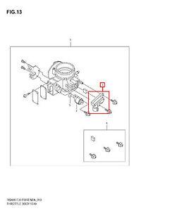 2006-2008 Suzuki Forenza Reno Throttle Position Sensor OEM