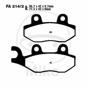 EBC FA214 Motorcycle Rear Brake Pads for Triumph Sprint ST