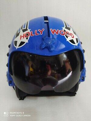 Fighter Pilot Style Motorcycle Helmet : fighter, pilot, style, motorcycle, helmet, STYLE, TOPGUN, HOLLYWOOD, FLIGHT, HELMET, AVIATOR, FIGHTER, PILOT, REPRO