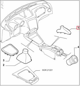 Car Parts Genuine Brand New Alfa Romeo 156 2003> Handbrake
