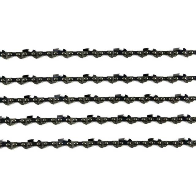 5 X CHAINSAW CHAIN FULL CHISEL 3/8 063 72DL FOR STIHL 20