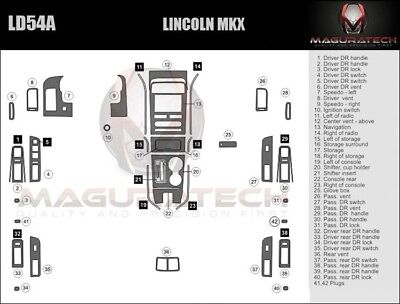 Fits Lincoln MKX 2007-2008 With Navigation Large Premium