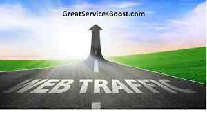 Guaranteed 5000+ real unique targeted visitors to your website