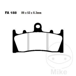 Brake Pads Sinter Epfa EBC EPFA188HH Kawasaki 636 ZX6R