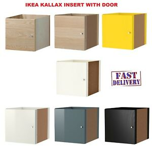Details About Ikea Kallax Insert With Door Various Colours33 X 33 Cm Available Colour Choice