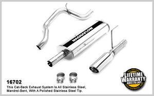 Dodge Nitro V6 3.7L 4.0L Magnaflow Filter-Back Exhaust