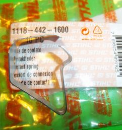 oem stihl ignition stop kill switch contact spring o28 028 o38 038 chainsaw ebay [ 1600 x 1200 Pixel ]