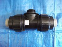 "Poly pipe fittings rural 2"" Poly x 1  male ISO Tee Rural ..."