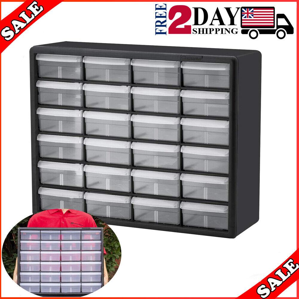 Small Parts Storage Cabinet Drawer Bin Organizer Box 64 Drawers Bins Craft Black For Sale Online Ebay