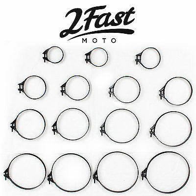 2FastMoto Carb Intake Air Box Filter Band Clamp Motorcycle