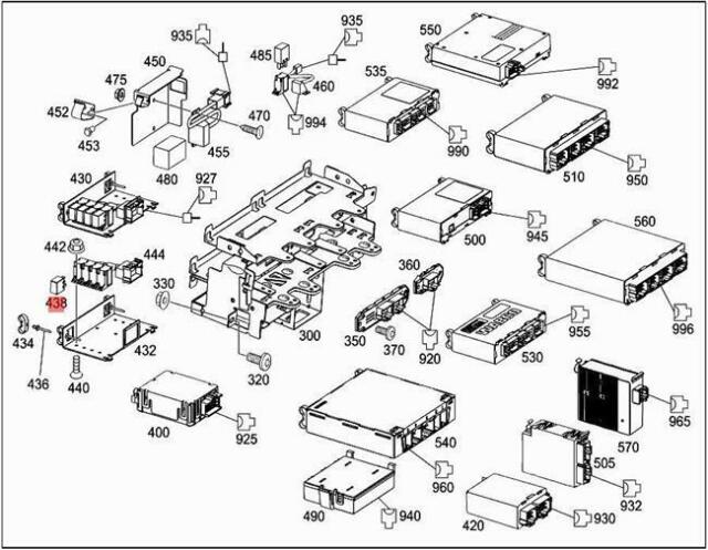 Gl450 Relay Diagram : 1998 2018 Mercedes Benz Relay 002