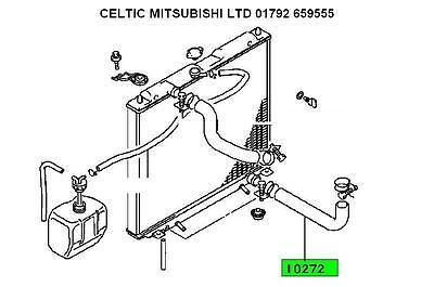 MITSUBISHI 1993-2001 SHOGUN PAJERO 2.8 TD LOWER RAD