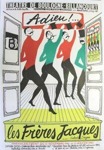 Qui A Chanté « La Chanson De Prévert » En 1981 ? : chanté, chanson, prévert, AFFICHE, FRERES, JACQUES, ADIEU, 1981-82, MUSIC, THEATRE, Prévert