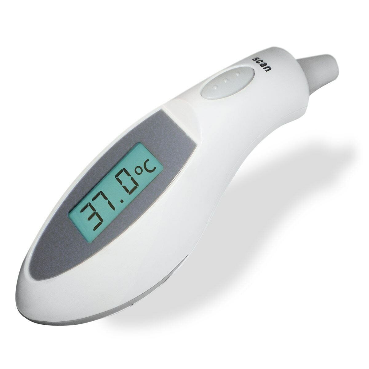 Digital Ir Infrared Ear Forehead Thermometer Baby Adult