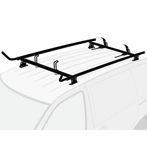 Pick up Topper UNIVERSAL Black 2x Ladder Holder Aluminum