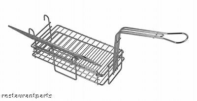 HINGED FRYER BASKET for Chimichanga Burrito 6