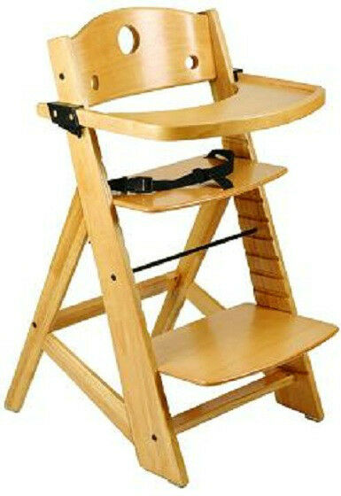keekaroo high chair covers bunnings new adjustable height right wood no seat insert
