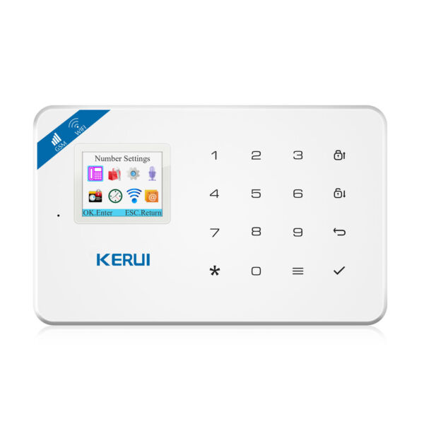 KERUI W18 WiFi 2g Home GSM Alarm System With 5 PIR 10 Door