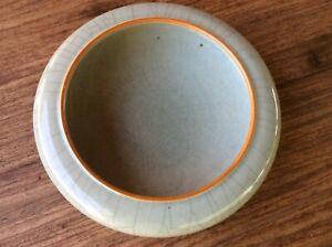 large Chinese crackle celadon brush washer / narcissus bowl, 18th C.
