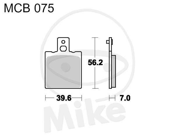TRW Lucas Bremsbeläge MCB75 vorne Beta ALP 125 for sale