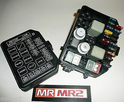toyota mr2 mk2 uk front fuse box relays - mr mr2 used parts 1989 - toyota