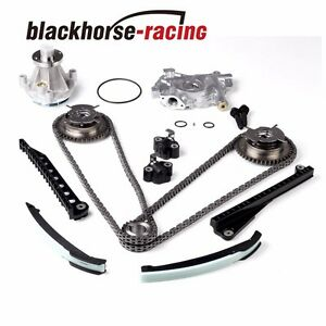 Timing Chain Oil&Water Pump+Cam Phasers For Ford F150