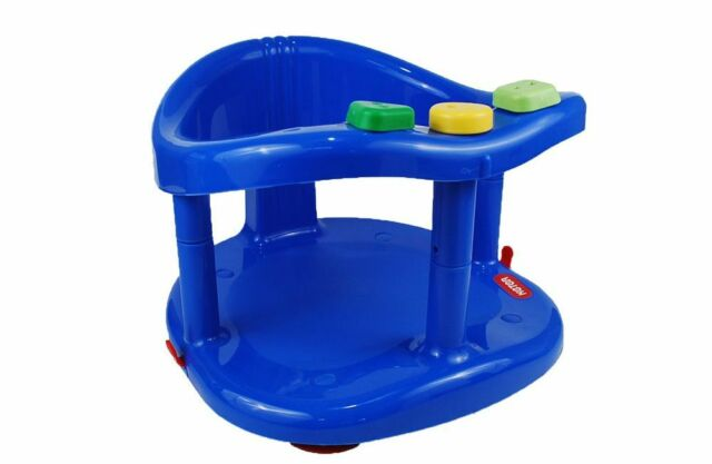 baby chair bath wholesale office chairs infant tub ring safety seat anti slip keter plastic color dark blue fast shipping from usa new in box