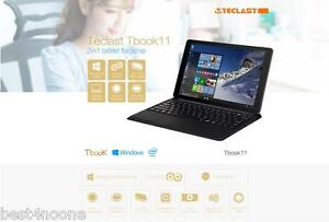 10.6'' Teclast Tbook 11 Tablet PC Windows 10+Android 5.1 Ultrabook 4GB+64GB HDMI