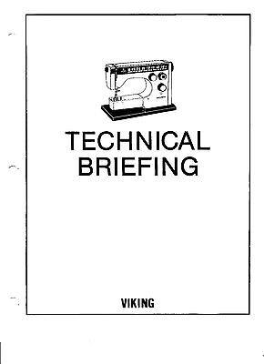 Viking Husqvarna PDF Technical Service Manual 2000, 6000