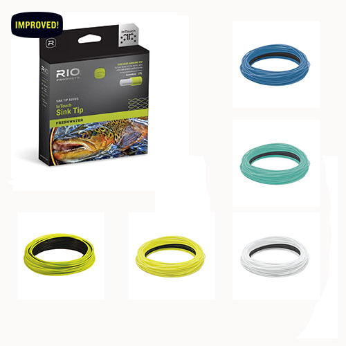rio intouch 24ft sink tip fly line w free shipping in us fishing line leaders leader line