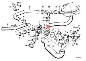 Genuine BMW E23 E24 E28 Coupe Sedan Engine Coolant