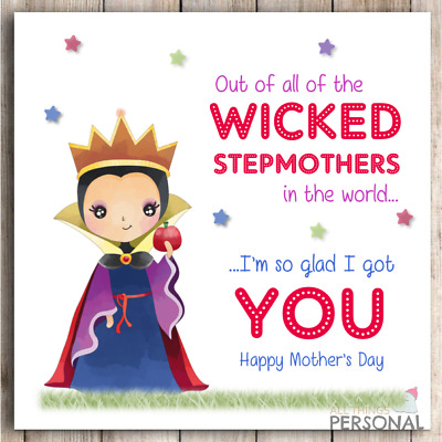 picture Happy Step Mothers Day Images step mum mothers day card stepmom mother s day stepmother funny joke humour card ebay