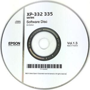 Epson Printer Driver Disc CD Expression Home XP-332 XP-335