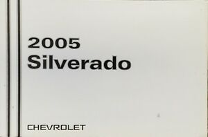 2005 Chevy Silverado Owners Manual Handbook. Original