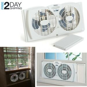 portable ventilation fan for kitchen aid hand held mixer powerful window twin dual in exhaust reversible small image is loading