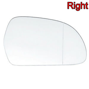 Right Passenger Side Door Wing Mirror Glass HEATED for