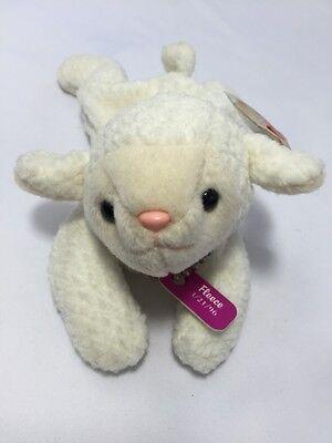 Sheep Baby Lamb Ty Original Beanie Fleece 3 21 96 White Stuffed Animal 8421041251
