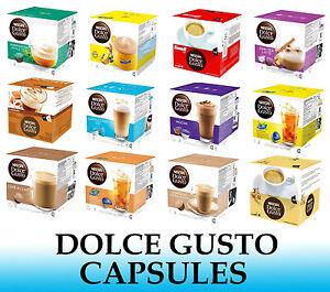 NESCAFE Dolce Gusto Capsule-venduti sciolti - 2 a 48 Capsule-molti Sapori   eBay