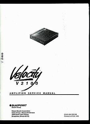 1995 Blaupunkt Velocity V2100 Automobile Car Power