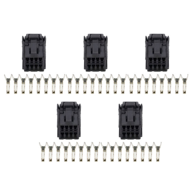 5 Sets 8 Pin harness connector car window winder assembly
