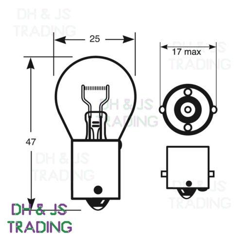 Rear Brake Lights Bulb 382 12v 21w 07-15 Audi Q7 Tail