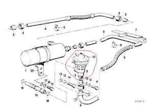 NEW Pierburg EGR Valve 7.20282.50.0 BMW E12 E23 E24 530i