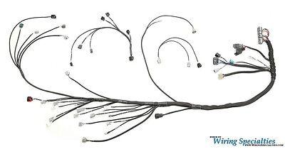 Wiring Specialties Engine Tranny Harness 1JZGTE VVTI into
