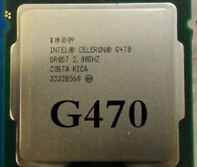 Image Is Loading Intel Celeron G 0ghz Lga1155 35w