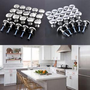 details sur 20 x boutons porte tiroir de zinc poignees placard commode cuisine vis