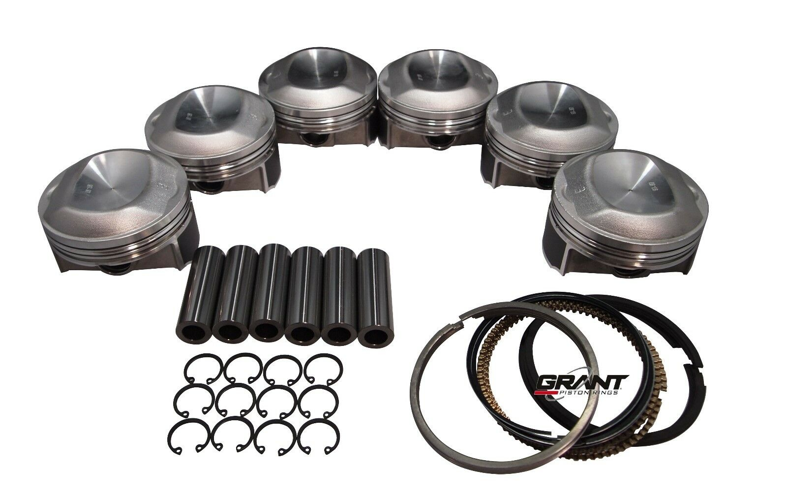 Qsc Porsche 911 98mm Pistons Set Cr 10 5 With Grant Piston