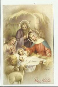 Visualizza altre idee su gesù, immagini religiose, immagini. Antica Cartolina Di Buon Natale Sacra Famiglia Gesu Bambino Maria Vedi Ebay