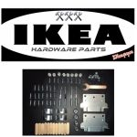 Ikea Malm Bed Frame Replacement Parts Hardware Low Version For Sale Online