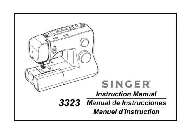 Singer 3323-TALENT Sewing Machine/Embroidery/Serger Owners